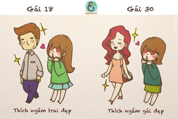 Sự khác biệt của cô gái 18 - 30 (Tác giả: Nabi2810) Enterf11