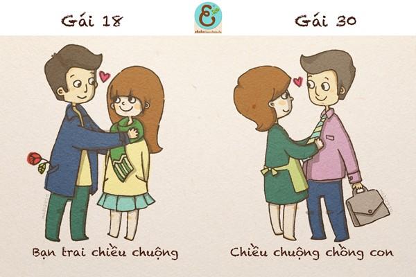 Sự khác biệt của cô gái 18 - 30 (Tác giả: Nabi2810) Enterf16