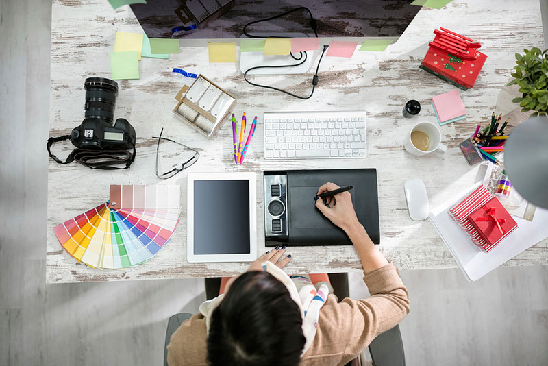 18 góc làm việc ấn tượng của người yêu thiết kế, sáng tạo ! Uoft3510