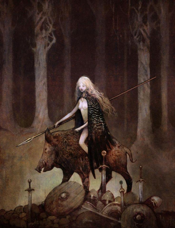 Mythologie germanique et dérivés 4f3a8d10
