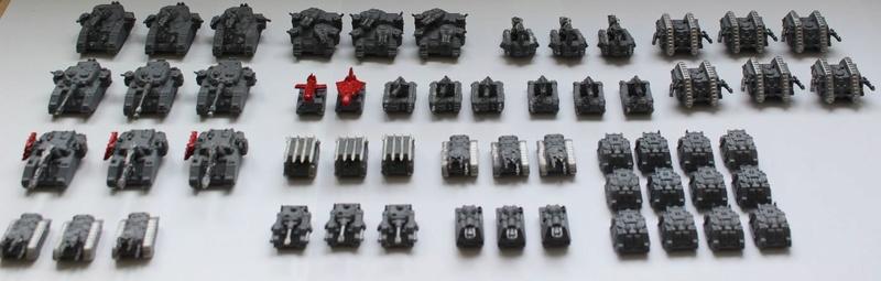 Lot de figurines epic old school  Z411