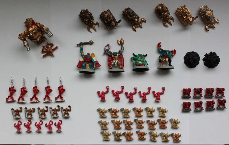 Lot de figurines epic old school  Z611
