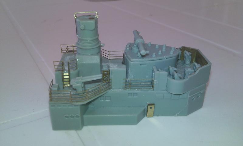 Admiral Graf Spee, Academy, 1/350 Chatea10