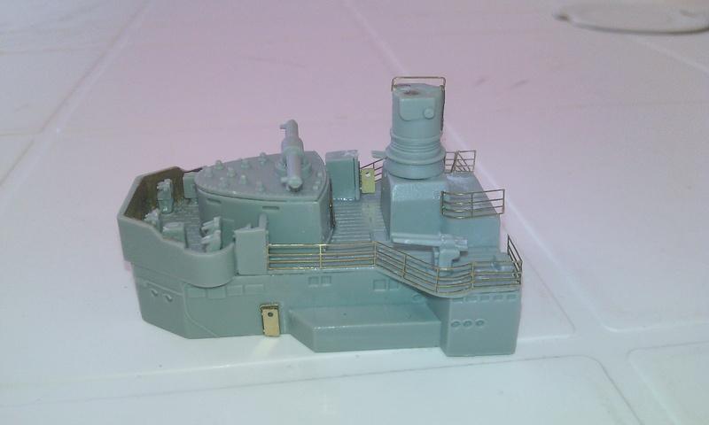 Admiral Graf Spee, Academy, 1/350 Chatea11