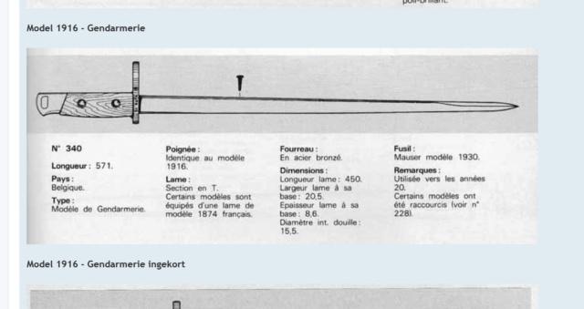Baïonnette belge M1916/35 courte Captur10