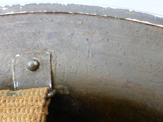 Casque MkII belge 1943 - peinture ? P1050630