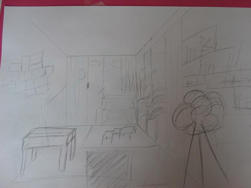 agencement salle à manger-salon et chambre dans même piéce Dsc07112