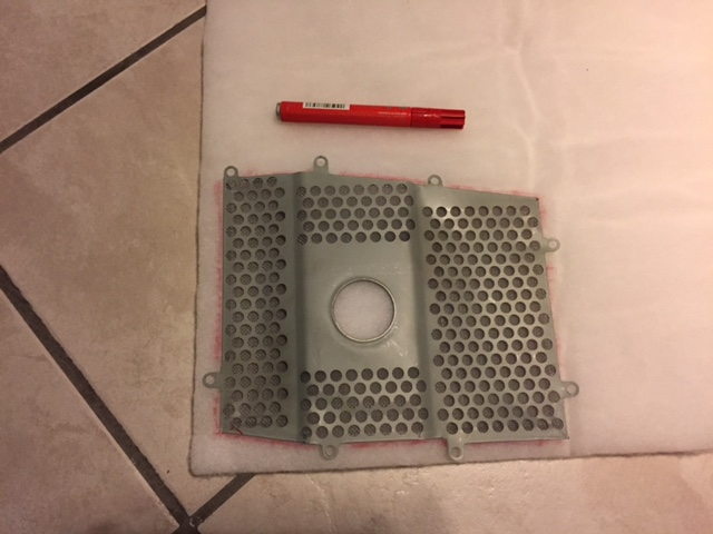 NTV 650 Revere : Fabrication d'un filtre à air perso Img_2114