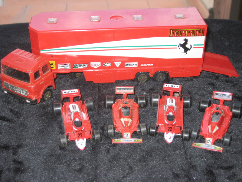 Autotrasporto Ferrari Polistil + 4 auto Ferrari vendo Img_1027