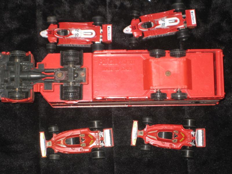 Autotrasporto Ferrari Polistil + 4 auto Ferrari vendo Img_1028