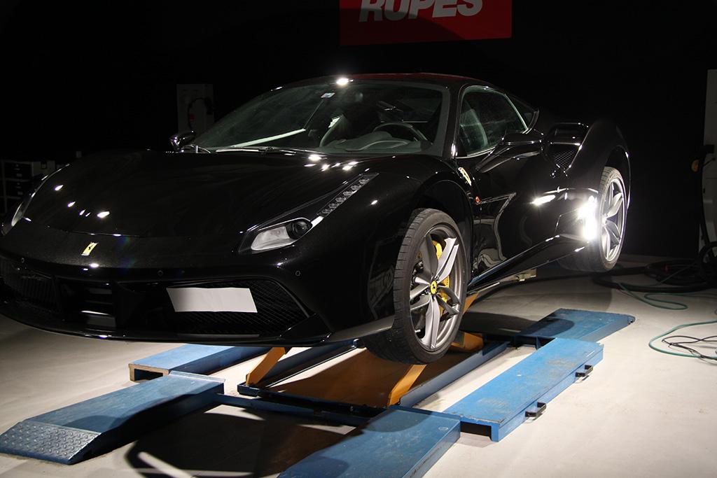 Davide Engheben @ BigFoot Centre in Ferrari 488 GTB Nanotech Detailing 1511