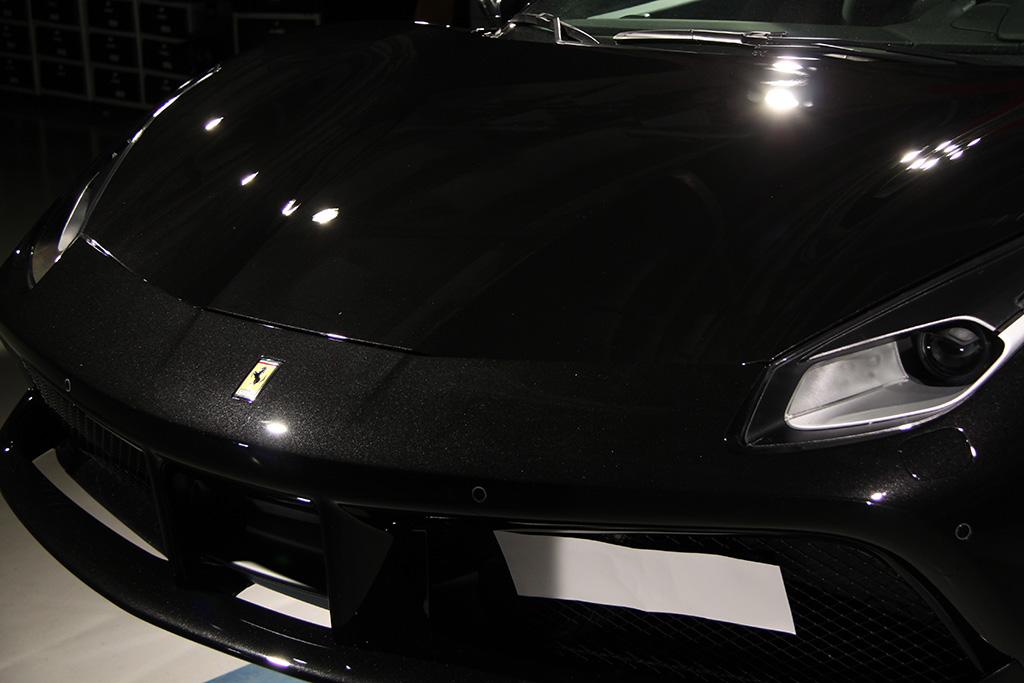 Davide Engheben @ BigFoot Centre in Ferrari 488 GTB Nanotech Detailing 1611