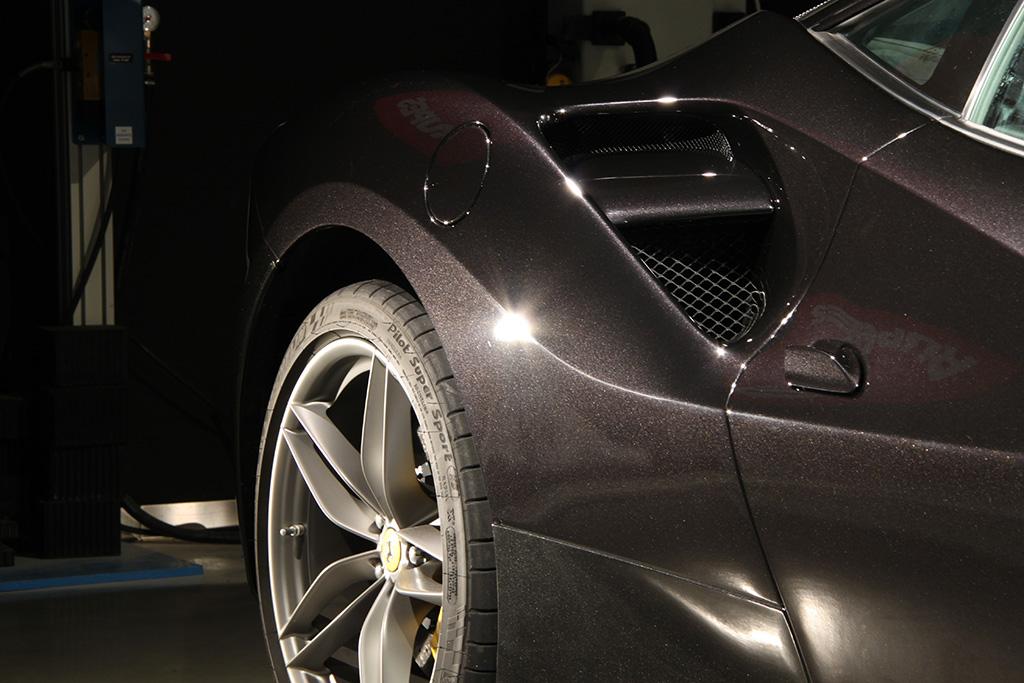 Davide Engheben @ BigFoot Centre in Ferrari 488 GTB Nanotech Detailing 2011