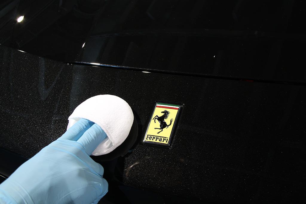 Davide Engheben @ BigFoot Centre in Ferrari 488 GTB Nanotech Detailing 2411