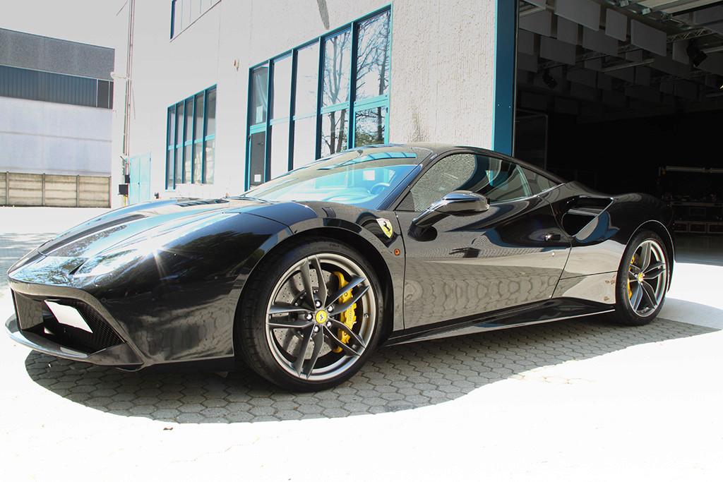 Davide Engheben @ BigFoot Centre in Ferrari 488 GTB Nanotech Detailing 3611