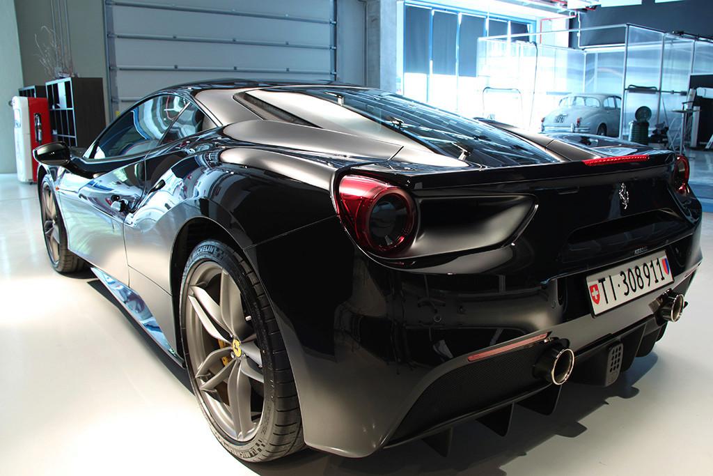 Davide Engheben @ BigFoot Centre in Ferrari 488 GTB Nanotech Detailing 4311