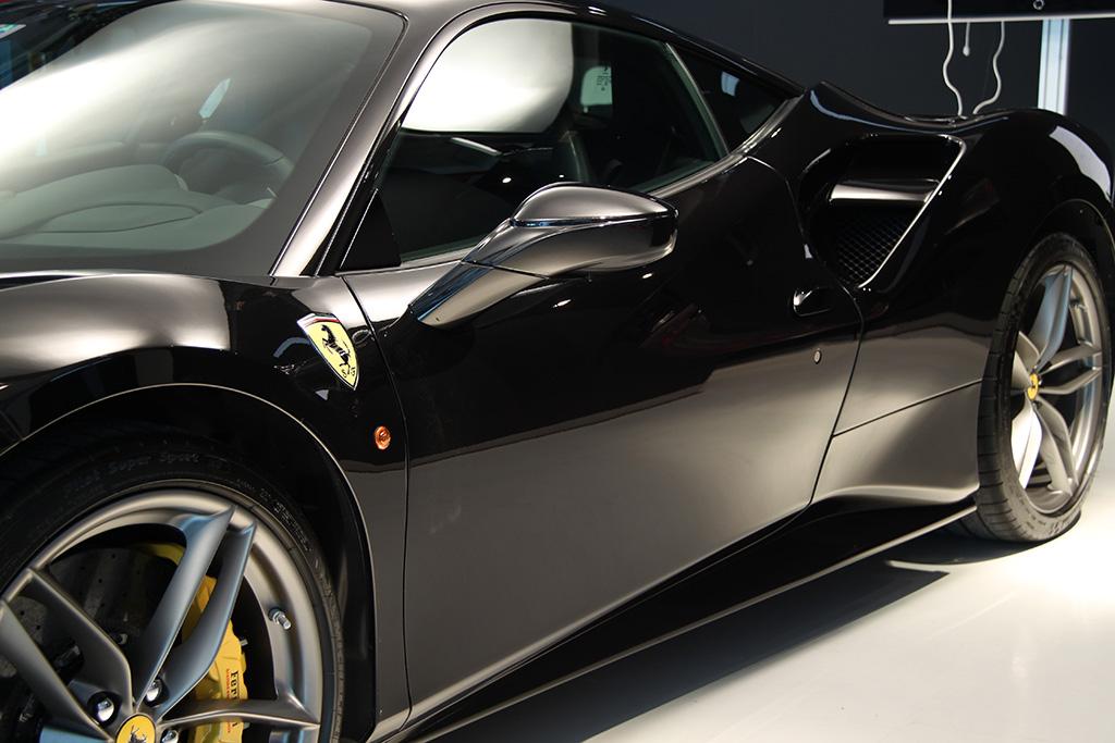 Davide Engheben @ BigFoot Centre in Ferrari 488 GTB Nanotech Detailing 4510
