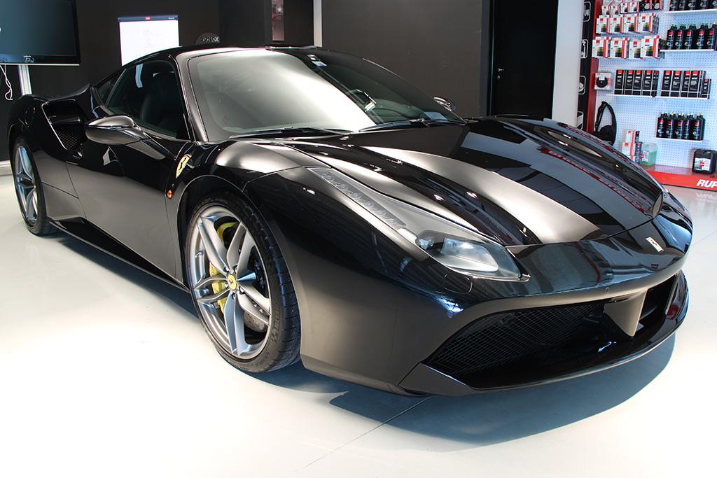 Davide Engheben @ BigFoot Centre in Ferrari 488 GTB Nanotech Detailing 4910