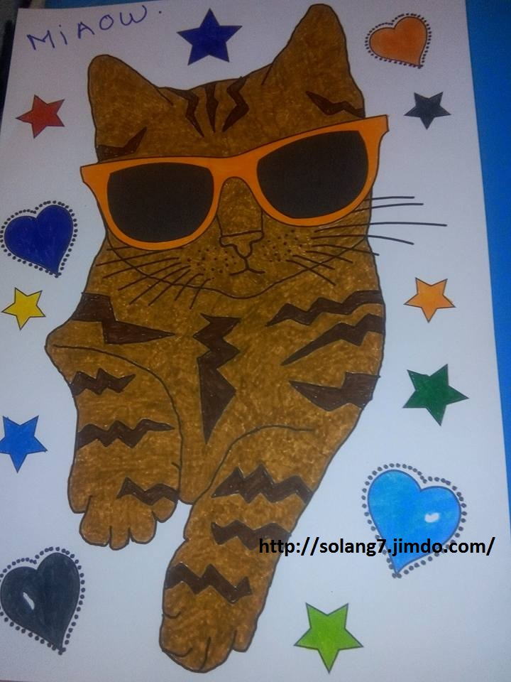 coloriage pour adulte ; mes creations 13501811