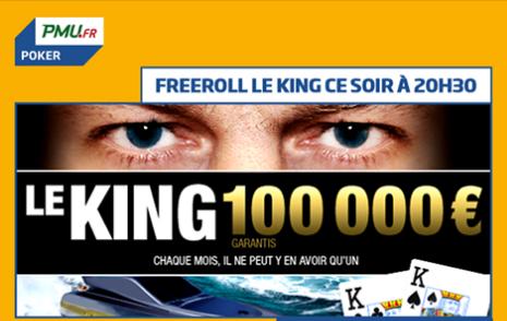 Freeroll King fans sur PMU le 31/12 à 20h30 Captur25