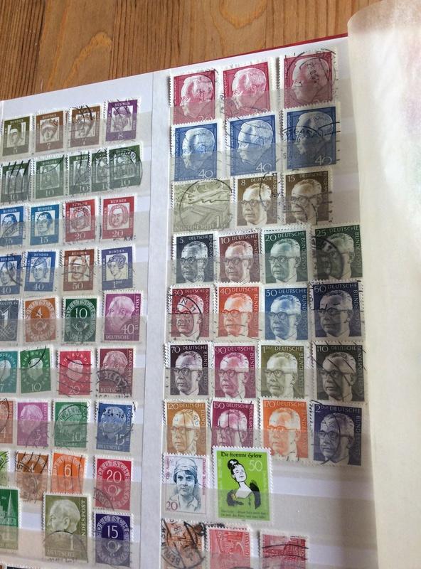 Bitte um Hilfe - Briefmarkensammlung geerbt Image10