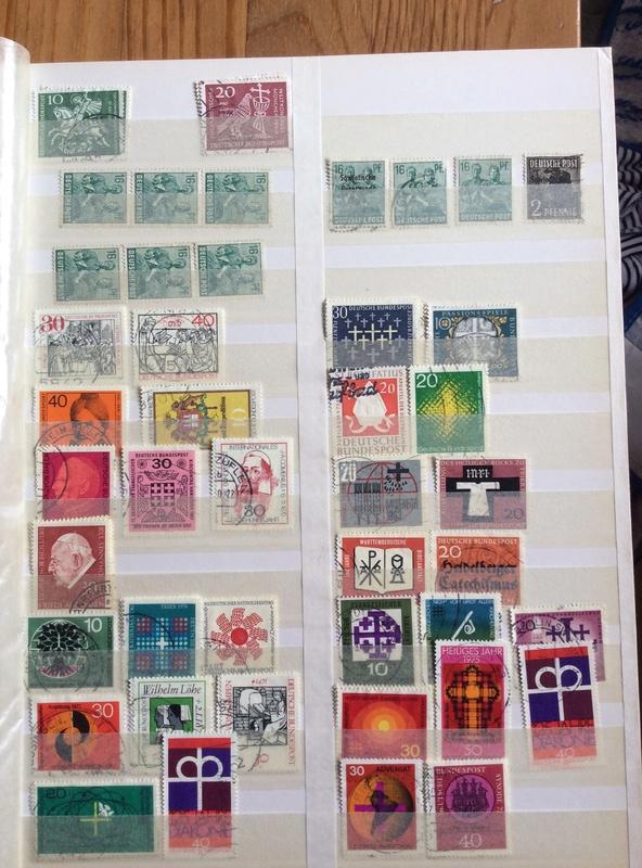 Bitte um Hilfe - Briefmarkensammlung geerbt Image11