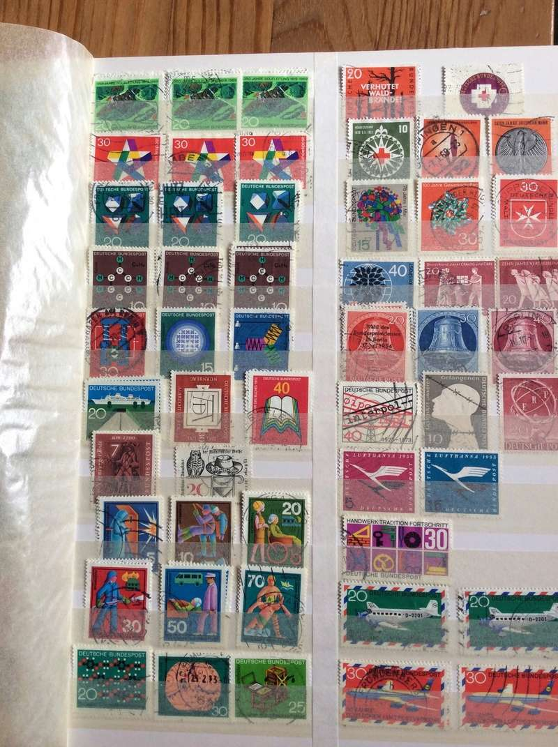 Bitte um Hilfe - Briefmarkensammlung geerbt Image16