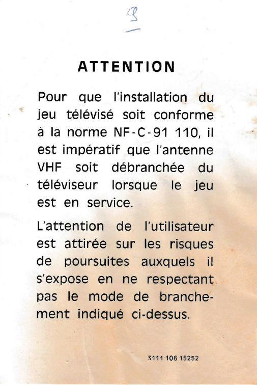 [ESTIM] Radiola Jeu Electronique Télévisé - Pong ? Docrad10