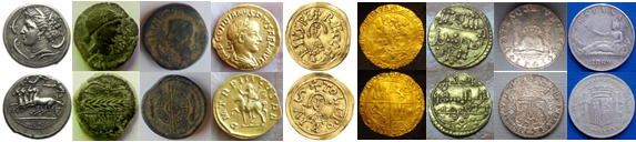 ESTUDIO MONEDAS ANTIGUAS y FALSIFICACIONES_STUDY ANCIENT COINS & FAKES