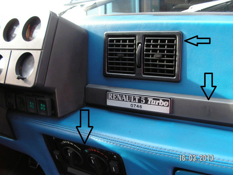 numéro Chassis (VIN) 1982 Turbo 1 R5turb10