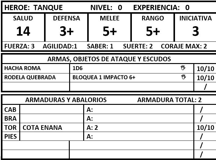 Hoja Inicial Tanque10