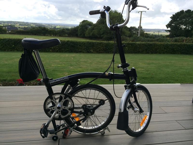 [VENDU] - Vends 2 vélos Brompton 3 vitesses noirs de 2004 Img_5720