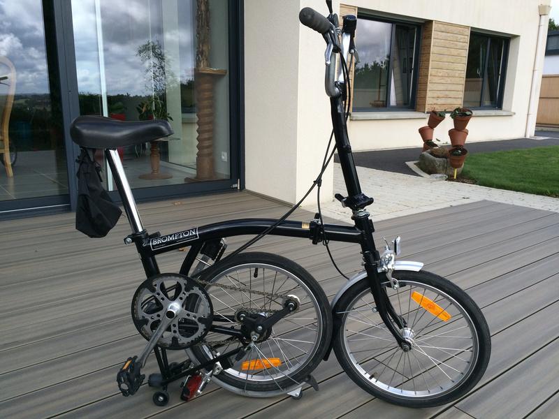 [VENDU] - Vends 2 vélos Brompton 3 vitesses noirs de 2004 Img_5725