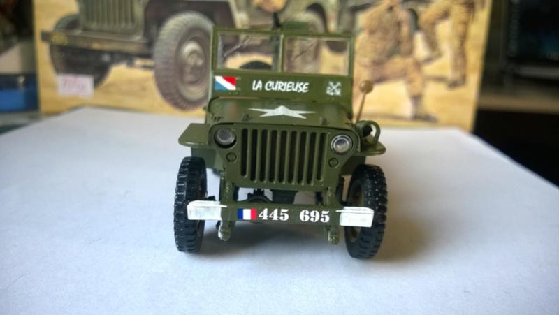 Jeep La Curieuse (Italeri et Japmodel 1/35 ) - Page 2 Wp_20130