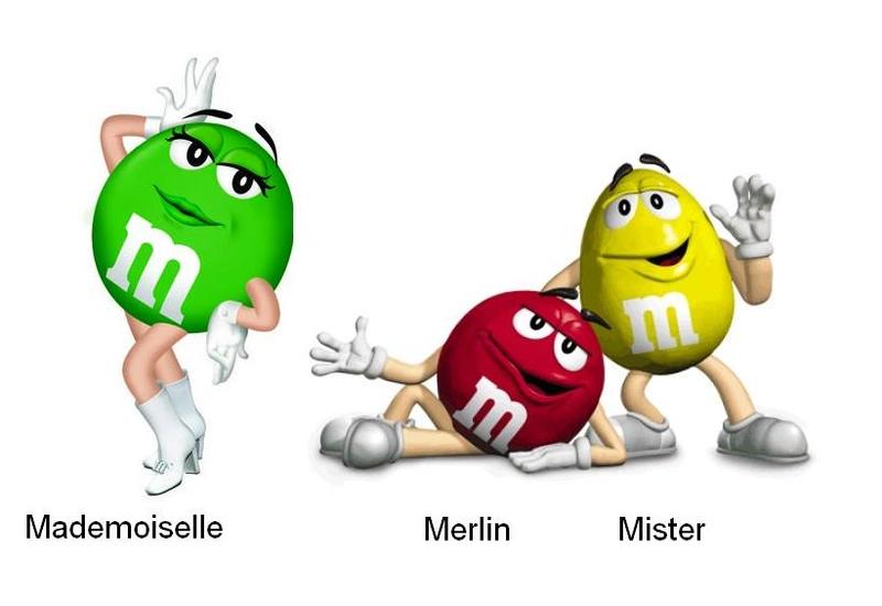 mes M&M 's 01110