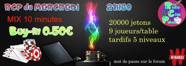 RCP du MERCREDI - 12/10/2016 à 21h30 3_affi13