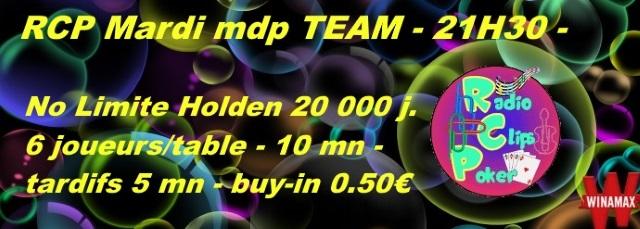 Tournois RCP Mardi mdp TEAM - 21h30 Affich13