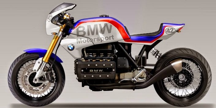Painting Bmw Cafe racer BMW Motor Sport Bmw11
