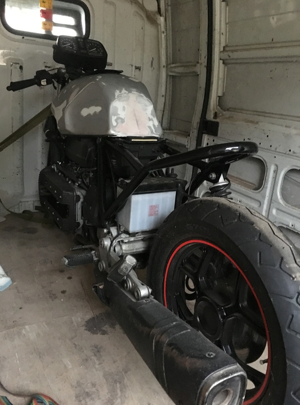 My cafe racer project Img_1010
