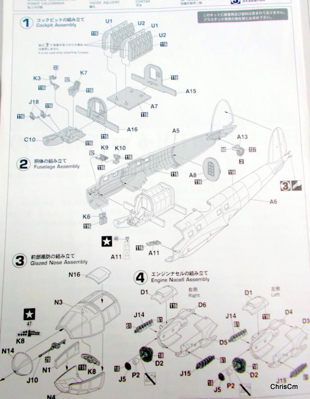 """[Hasegawa] Heinkel He 111 H6 """"TORPEDO BOMBER""""  Dscn0429"""