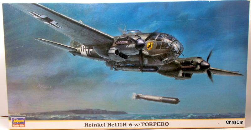"""[Hasegawa] Heinkel He 111 H6 """"TORPEDO BOMBER""""  Dscn0432"""