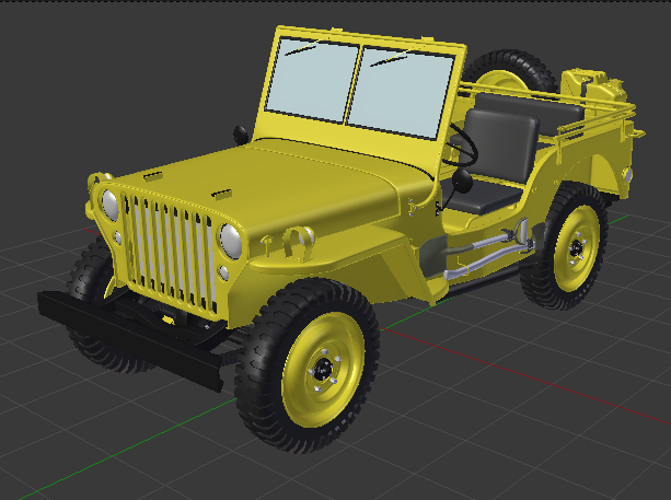 Dragon Willys 1/6 axes T-Rex 60 Jaune10
