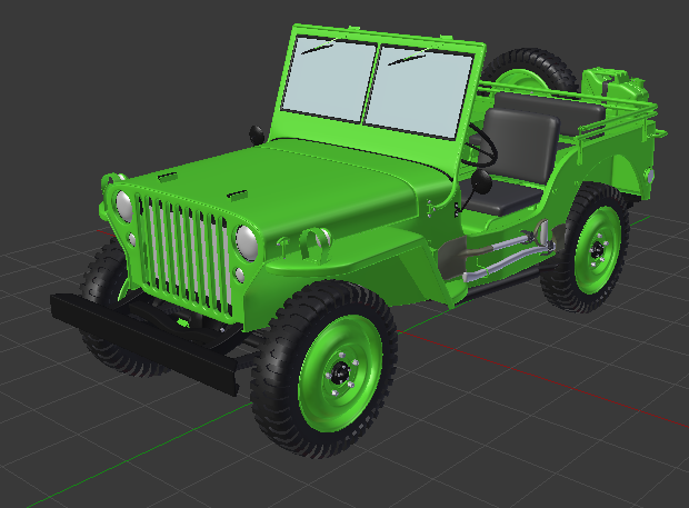 Dragon Willys 1/6 axes T-Rex 60 Verte10