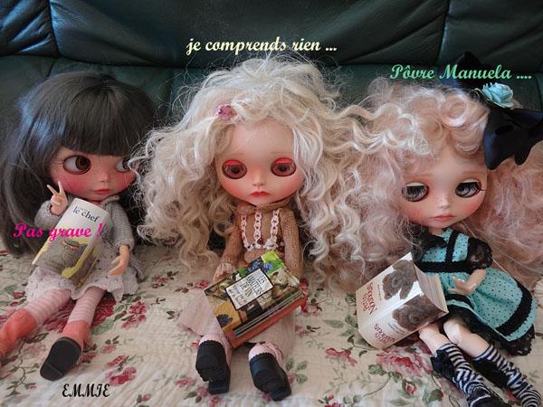 Silver, Blythe custom par Zuzana;  Manuela et Perle - Page 2 1311