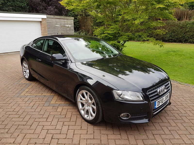 "[SOLD] 4 x Winter Tyres & Audi 18"" Rims from my Audi A5 20160928"