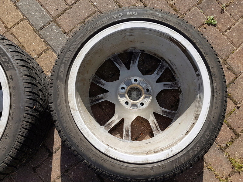 "[SOLD] 4 x Winter Tyres & Audi 18"" Rims from my Audi A5 20161014"