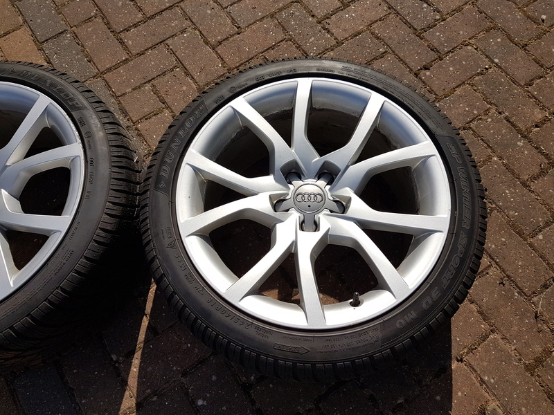 "[SOLD] 4 x Winter Tyres & Audi 18"" Rims from my Audi A5 20161024"