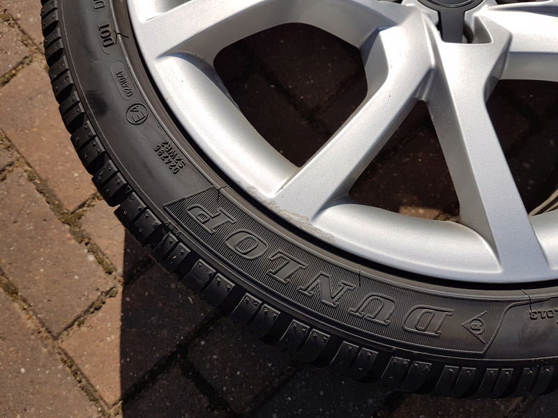 "[SOLD] 4 x Winter Tyres & Audi 18"" Rims from my Audi A5 20161026"