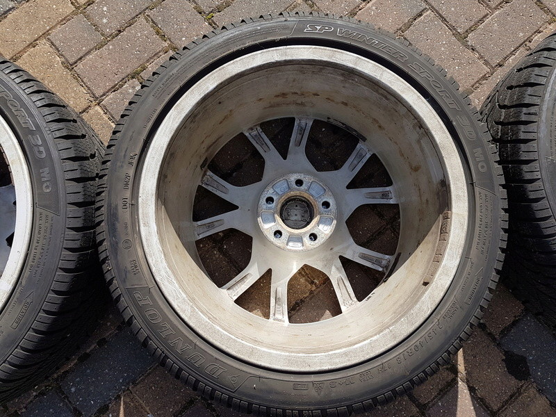 "[SOLD] 4 x Winter Tyres & Audi 18"" Rims from my Audi A5 20161033"