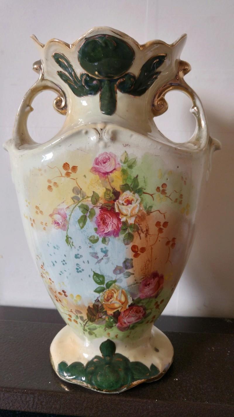 Irish urn vase stamped identification help 20160910